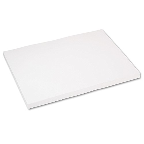 Pacon 5220 Heavyweight Tagboard, 24 x 18, White, 100/Pack by Pacon
