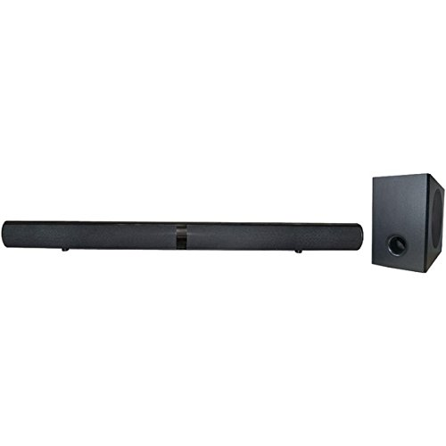 Proscan PSB377W Bluetooth Speakers, 2.1-Channel Home Theater Speaker System, Black