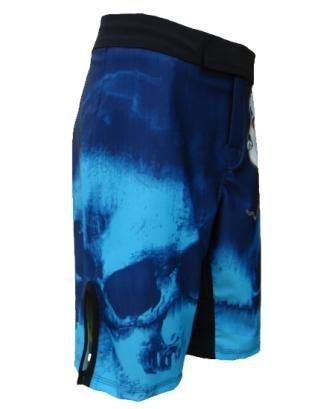 4-Way Stretch MMA Fight Shorts. UN92 MF11 Dragon/_Blue/_28