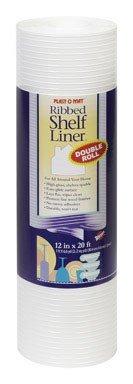 liner shelf wht 12 x20