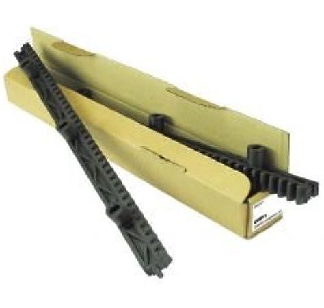 Cremallera para puerta corredera Nylon - Paquete de 1 mt 2 piezas CRP1 Hiltron - Made in Italy: Amazon.es: Bricolaje y herramientas