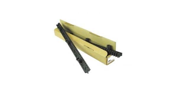 Cremallera para puerta corredera Nylon - Paquete de 1 mt 2 piezas ...