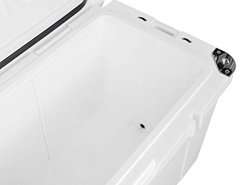 Monoprice Emperor Cooler - 160 Liters - White | Securely Sealed, Keeps Cold for 130 Hours & Hot for 150 Hours - Pure Outdoor Collection by Monoprice (Image #5)