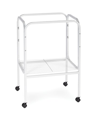 Prevue Pet Products SP444W Bird Cage Stand with Shelf, White