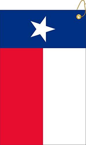 (Devant Sport Towels Texas Woven Towel, Red, 16