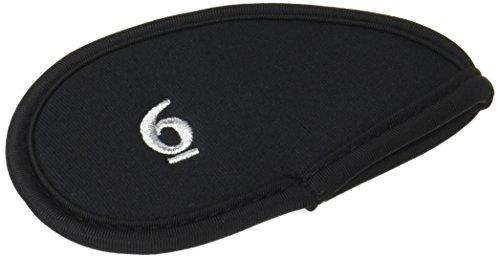 ミュート悔い改めるストライクダイヤ(DAIYA) アイアンカバー411 バラ売りモデル 黒 [6] HC-411