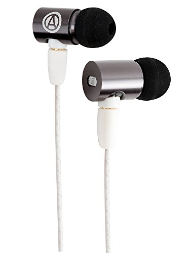 Earbuds/Earphones with Mic : Noise Isolating Power Bass Driver, in-Line Microphone with Volume and Phone Controls, IEM in-Ear Headphones, Ultra Clear Sound : The Audiophile Sub Zero