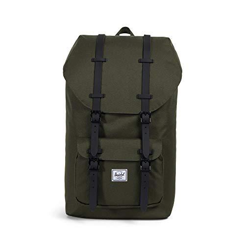 Herschel Little America Laptop Backpack, Forest