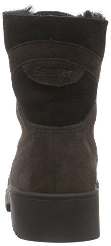 Ganter ELLEN-STIEFEL, Weite G, Damen Kurzschaft Stiefel, Braun (antrazit / schwarz 6201), 42 EU (8 Damen UK)