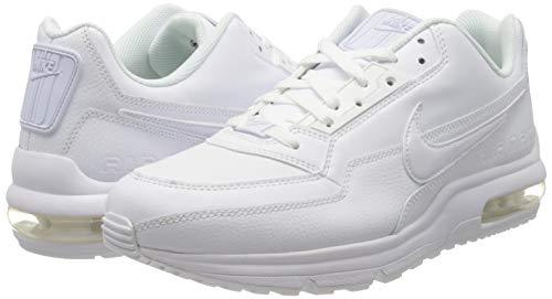 Nike Mens Air Max Ltd 3 Sneaker, White White White, 44.5 EU 7