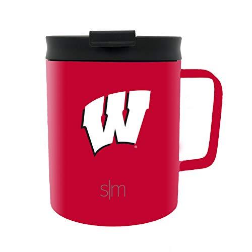 (Simple Modern 12oz Scout Travel Mug Wisconsin)