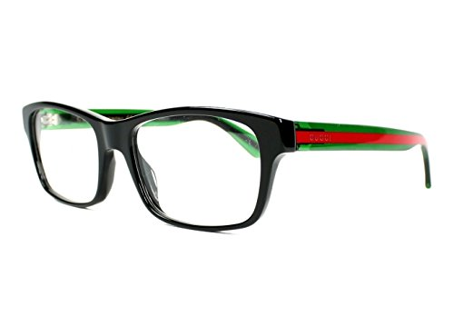 Gucci GG 0006O 006 Black Plastic Rectangle Eyeglasses - Eye Gucci