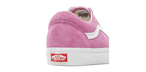 True Baskets White pour Femme Vans Rose Violet 74UPZ