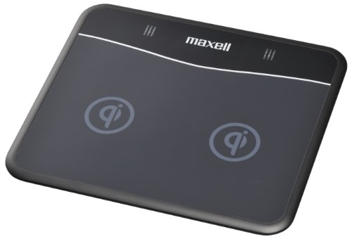 Maxell Qi Wireless Dual Phone Charger (Works with Nexus 4) WP-PD10.BK by Hitachi Maxell