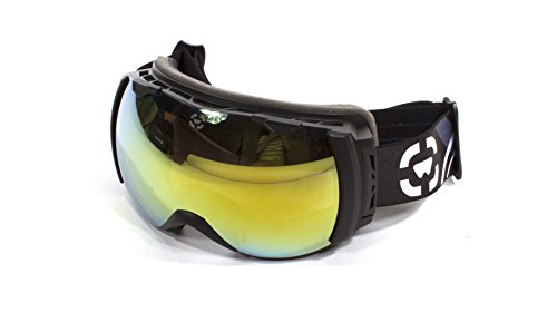 Winterial Globe Ski  Snowboard Goggles All Mountain  UV Protection  Black