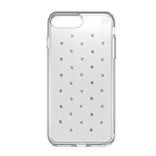 15 opinioni per Speck Presidio Print Custodia Protettiva per iPhone 7, Argento/Trasparente