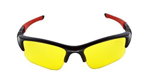 jaune lens de solar jaune Homme soleil Lunettes n1HwBqP86