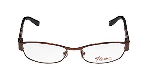 Thalia Cipriana WomensLadies Ophthalmic Popular Design Designer Full-rim Spring Hinges EyeglassesSpectacles (51-16-135 Brown  Purple)