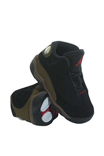 414581-006 Kids Toddler 13 Retro BT Jordan Black Gym Red Light - 13 Retro Colors