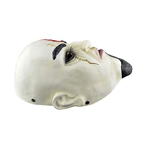BNMY Halloween Mask Resin Product Super Cool Clown Mask Payday: The Heist Series God Of War,3