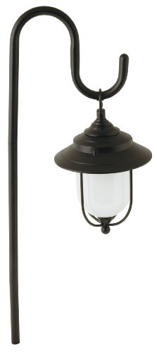 Moonrays 95867 Parker Low Voltage Metal Path Light, 10-Watt Lamp, (Style Path Lighting)