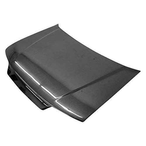 VIS Racing (VIS-CAM-876) SIR Style Hood Carbon Fiber - Compatible for Honda CRX (JDM) 1988-1991 (1988 1989 1990 1991 | 88 89 90 91)