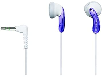 Sony Mdr-E10Lp Vlt Headphones – Fashion Earbuds Violet Discontinued by Manufacturer