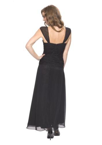 Cóctel Vestido Negro Astrapahl Mujer Schwarz co6021ap 7RxnZEwqg