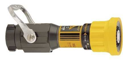 1-1//2 In. Yellow Fire Hose Nozzle
