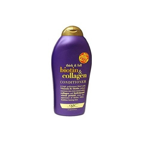 OGX Thick & Full Biotin & Collagen Conditioner, 19.5 FL OZ