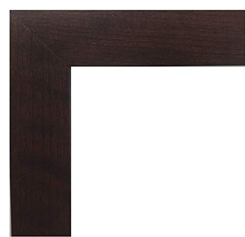 US Art 13x19 Picture Frame, Smooth Wrap Finish, 1.25-Inch Wide, Cherry, Wood Composite MDF