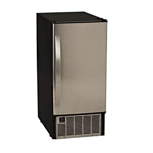 EdgeStar 45 Lb. 15 inch Wide Undercounter Clear Ice Maker 31Ht9DjBzeL