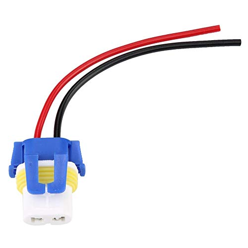 Headlight Wiring Harness, 9006 Headlight Fog Lamp Wiring Harness Ceramic Female Sockets Connector Adapter: