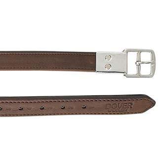 Dover Saddlery Lined Stirrup Leathers, 1 X 48 Inches, Oakbark