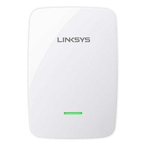 Linksys N600 Dual-Band Wi-Fi Range Extender White RE4100W-4A