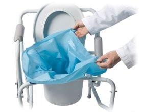 Sani-Bag+ Commode Liners, pack of 12