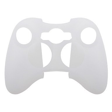 2in1 combo Silicone Skin WHITE and GREY Game Controller Protection. Comes in manufacturer sealed zip-lock bag.
