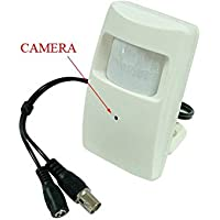 Hi-Res Covert Motion Detector Wide-Angle Color Hidden Security 700TVL Camera