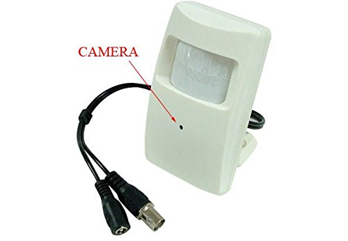 Amazon.com : Hi-Res Covert Motion Detector Wide-Angle Color Hidden ...