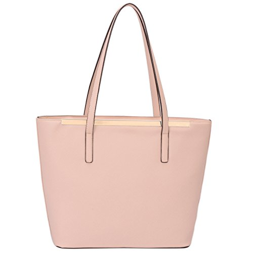 Faux Leather Tote - 4