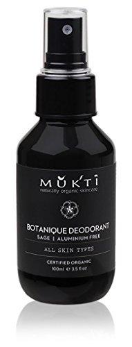 Botanique Deodorant, Mukti Organics