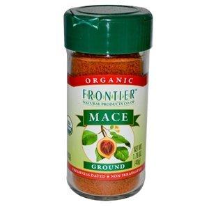 Frontier Mace Ground ORGANIC 1.76 oz. Bottle - 3PC