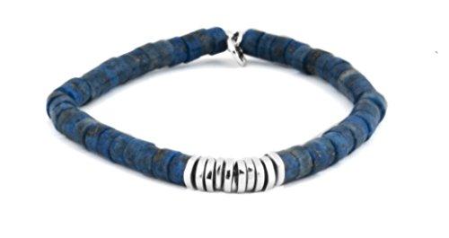 Tateossian - Bracelet - Plaqué argent - Lapis Lazuli - 17.5 cm - BL6196