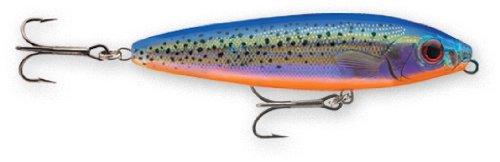 Rapala Saltwater Skitter Walk 11 Fishing lure, 4.375-Inch, Holographic Blue