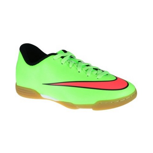 Nike Jr Mercurial Vortex II TF - Zapatillas unisex Verde (Electric Green / Hyper Punch Blk)