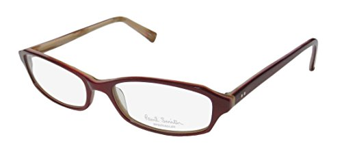Paul Smith 276 Womens/Ladies Designer Full-rim Eyeglasses/Eyeglass Frame (52-16-140, Bordeaux)