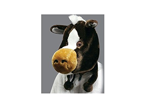 2015 Flurry Friends Adult Plush Animal Head Mask Hat Cap - Over 20 Styles! (Harry The Horse)