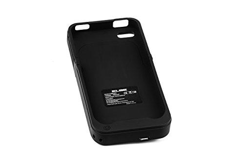 Elbe CARG-iP4-Coque batterie pour iPhone 4/4S Noir