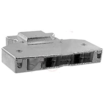 Northern Technologies N90E120000 Hood; D-Sub; 68Pos; StraightExit; CMHDSeries; Metal; 12.65mmCblDia