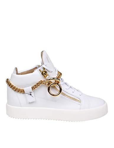 bianca pelle Zanotti Design in Men Giuseppe Sneakers Rm90028002 fwY0xqqSU